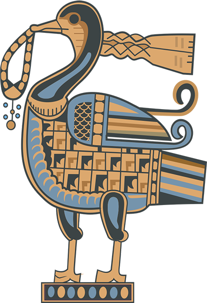 A Fine Example of a Royal Sogdian Duck